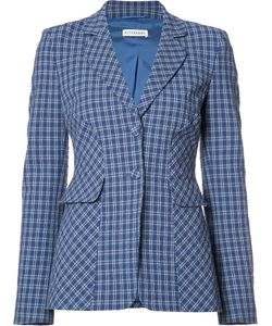 Altuzarra | Checked Blazer 36 Cotton/Spandex/Elastane