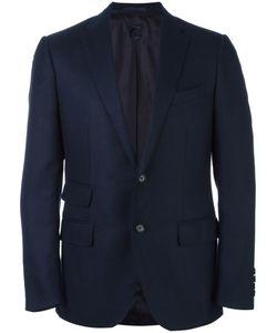 Caruso | Flap Pocket Blazer 50 Cashmere/Cupro