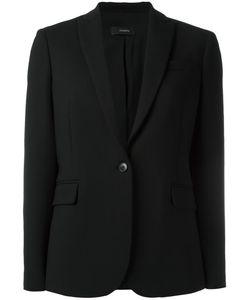 Joseph | Savoy Stretch Blazer Large Virgin Wool/Spandex/Elastane/Polyester/Acetate