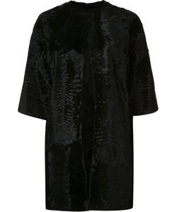 J. Mendel | Caban Jacket 2 Silk/Lamb Fur