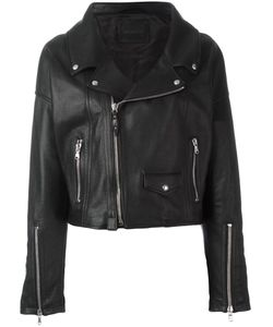 Diesel Black Gold | Le Figaro Biker Jacket 42 Leather/Rayon/Polyester