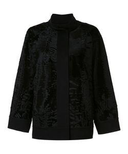 J. Mendel | Caban Jacket 2 Silk/Cashmere/Lamb Fur