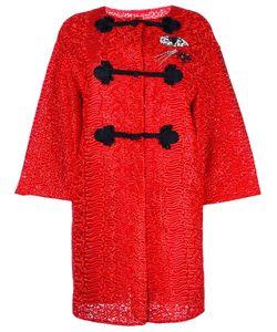 Ermanno Scervino   Embellished Oriental Coat 42 Polyester/Polyamide