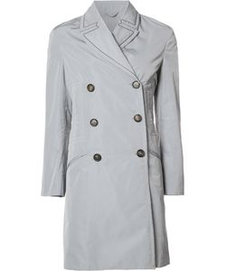 Brunello Cucinelli | Button Up Trench Coat 42 Polyester/Silk