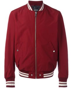 Diesel | Zip Up Bomber Jacket Medium Polyester/Cotton