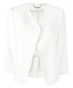 Chloe | Chloé Open Front Jacket 38 Silk/Acetate/Viscose