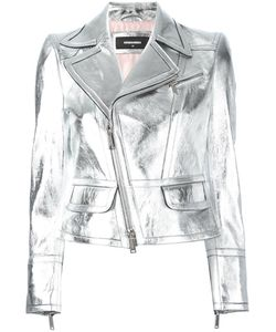 Dsquared2 | Biker Jacket 46 Calf Leather/Polyester