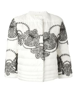 Ermanno Scervino | Padded Cropped Jacket 40 Polyester
