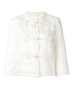 Ermanno Scervino | Duffle Detailing Cropped Jacket 44 Polyester/Viscose/Acetate/Feather