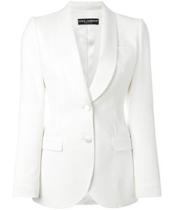 Dolce & Gabbana | Classic Blazer 40 Polyamide/Spandex/Elastane/Wool/Silk