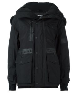 Dsquared2 | Ski Technical Parka 40 Polyamide/Polyester/Feather Down