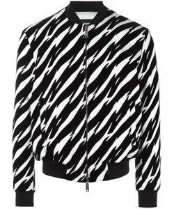 Dsquared2 | Tiger Flash Bomber Jacket 54 Viscose/Polyester/Spandex/Elastane/Cotton