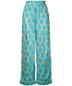 Ganni | Emiko Jacquard Trousers 34 Viscose Fibre