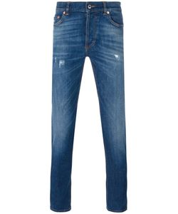Givenchy | Cuban Fit Distressed Jeans 30 Cotton/Polyester/Spandex/Elastane
