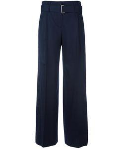 SYSTEM | High Waist Trousers Small Nylon/Polyurethane/Wool