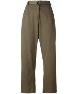 Erika Cavallini | Semi-Couture Trousers 44 Cotton/Lyocell