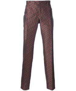Ermanno Scervino   Geometric Pattern Tailo Trousers 50 Cotton/Polyester