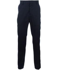 Lanvin | Appliqué Stripe Trousers 46 Cotton
