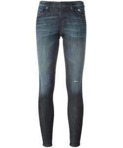Diesel | Skinzee Low Zip Jeans 24/32 Cotton/Spandex/Elastane/Polyester