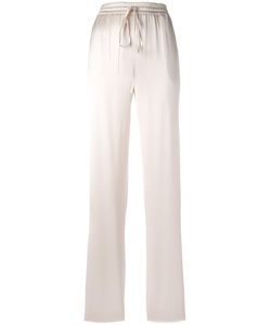 Jil Sander | Straight Trousers 38 Silk/Cotton