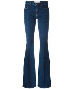 Victoria, Victoria Beckham | Stretch Flared Jeans 27 Cotton/Polyester/Spandex/Elastane Victoria Victoria Beckham