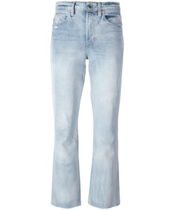 Helmut Lang | High Rise Cropped Jeans 24 Cotton