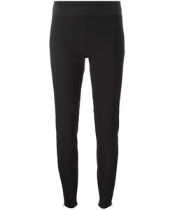 Stella Mccartney | Heather Trousers 42 Cotton/Polyamide/Spandex/Elastane