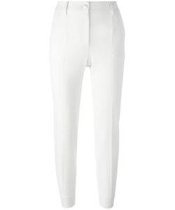 Dolce & Gabbana | High-Waisted Trousers 40 Virgin Wool/Polyamide/Spandex/Elastane