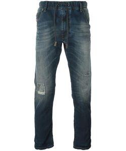 Diesel | Logo Detail Drawstring Straight-Leg Jeans 28 Lyocell/Cotton/Spandex/Elastane