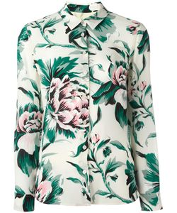 Burberry | Print Shirt 10 Silk