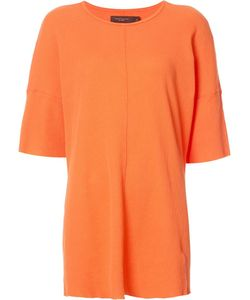 Daniel Patrick | Oversized Thermal T-Shirt Small Cotton
