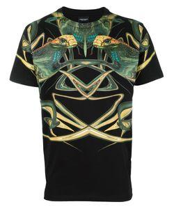 MARCELO BURLON COUNTY OF MILAN   Cobra Print T-Shirt Small