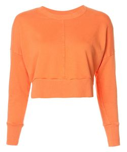 Daniel Patrick | Cropped Sweatshirt Small Cotton