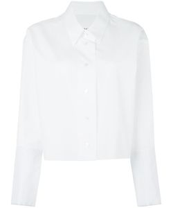 Maison Margiela | Cropped Long Sleeve Shirt 38 Cotton