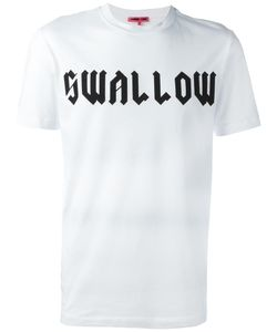 Mcq Alexander Mcqueen | Swallow Print T-Shirt Xl Cotton