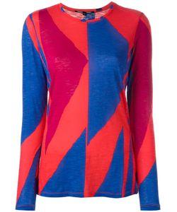 Proenza Schouler   Geometric Print T-Shirt Medium Cotton