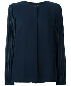 Michael Michael Kors | Pleated Sleeves Blouse Xs Polyester