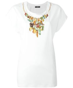 Diesel | Diamond Necklace Print T-Shirt Medium Cotton