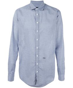 Dsquared2 | Checked Shirt 50 Cotton/Modal/Silk