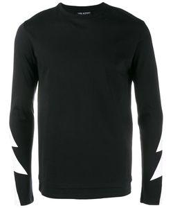 Neil Barrett | Lightning Bolt Print T-Shirt Large Cotton
