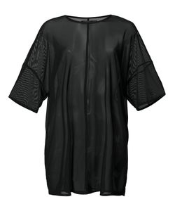Daniel Patrick | Oversized Mesh T-Shirt Medium Nylon