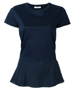 Dorothee Schumacher   Ruffled Hem T-Shirt 1 Cotton/Silk