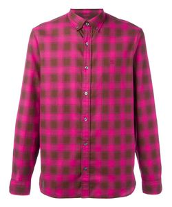 Burberry | Checked Print Shirt Large Cotton