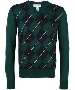 Comme Des Garçons Shirt Boy   V-Neck Jumper Medium Wool/Acrylic Comme Des Garçons Shirt