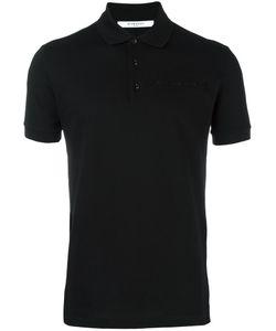 Givenchy   Logo Plaque Polo Shirt Xs Cotton/Polyurethane