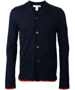 Comme Des Garçons Shirt Boy   Contrast Hem V-Neck Cardigan Small Acrylic/Wool Comme Des