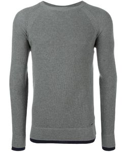 Diesel | Ribbed Trim Sweatshirt Small Cotton