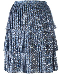 Michael Michael Kors | Pleated Print Skirt 2