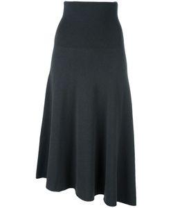SYSTEM | Midi Full Skirt Nylon/Wool