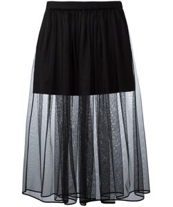 Givenchy | Pleated Tulle Skirt 36 Cotton/Spandex/Elastane/Polyester/Silk